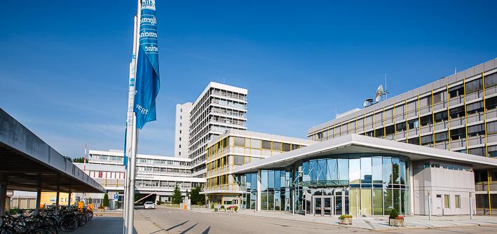Gebäude Medienzentrum Augsburg